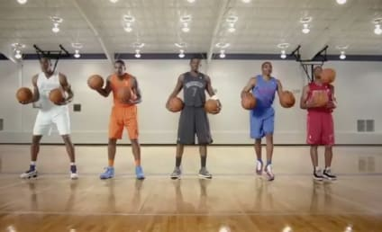 NBA Stars Bounce in the Holidays [Video]