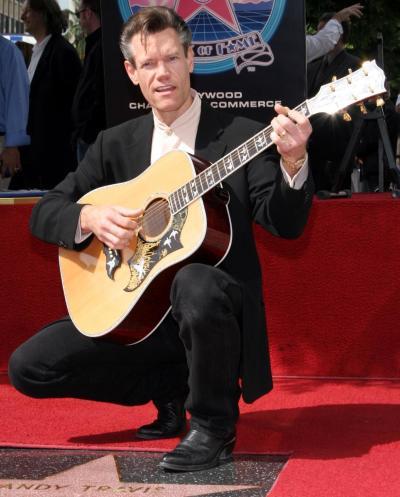 Randy Travis on Walk of Fame