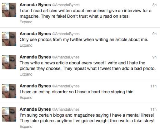 Amanda Tweets