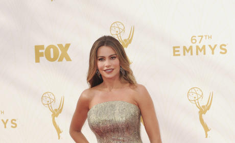 Sofia Vergara at the 2015 Emmys