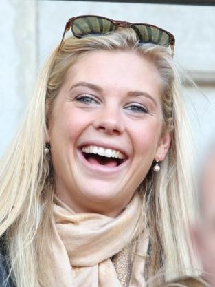 Chelsy Davy Smiles