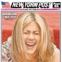 Jennifer Aniston New York Post Front Page September 2016