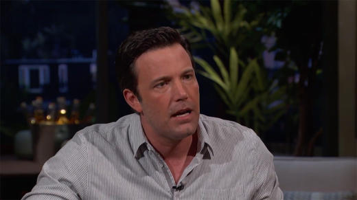 Ben Affleck upon F Bomb-Filled Interview: #SorryNotSorry!