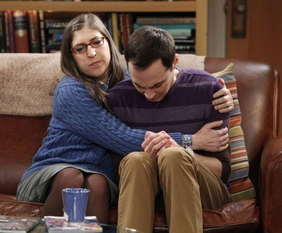 Sheldon and Amy