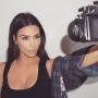 Kim Kardashian takes another selfie