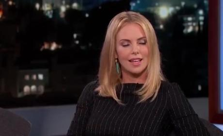 Charlize Theron to President Obama: Let's Go to a Strip Club!
