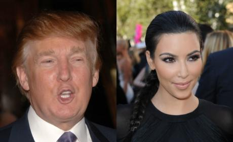 Kim Kardashian May Vote for Donald Trump