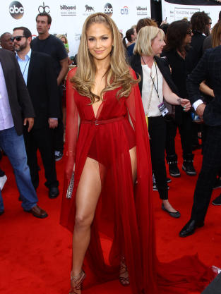 Jennifer Lopez at the Billboard Music Awards