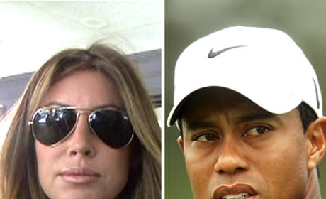 Spotted Partying: Tiger Woods & Rachel Uchitel?!