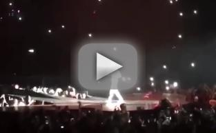 Justin Bieber Storms Off Stage