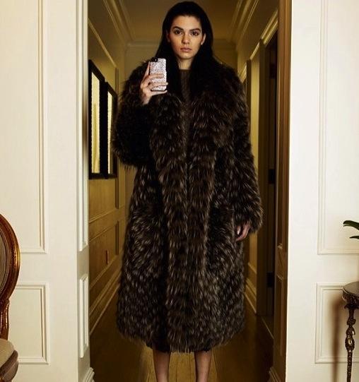Kendall Jenner Models for Vogue