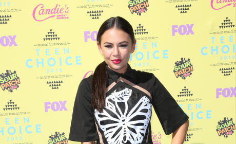 Janel Parrish at the 2015 Teen Choice Awards