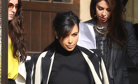Kim Kardashian: Kris Humphries is Threatening My Baby!