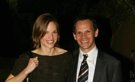Hilary Swank and John Campisi: It's Over