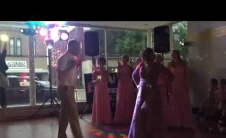 Groom and Mother Engage in Epic Dance-Off