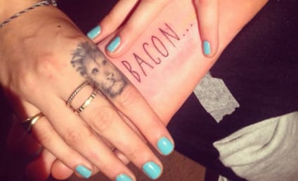 """Cara Delevingne Brings Home """"Bacon"""" with Latest Tattoo"""