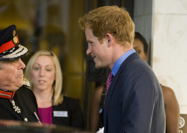 Clothed Prince Harry