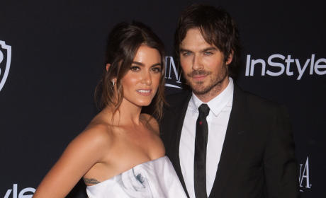 Nikki Reed GUSHES Over Ian Somerhalder: Most Amazing Guy EVER!!!