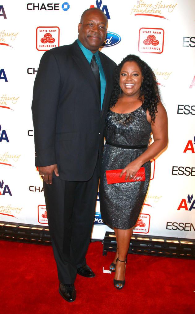 Sherri Shepherd and Lamar Sally