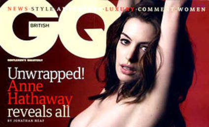 Anne Hathaway Wants to Kiss (Like) Angelina Jolie