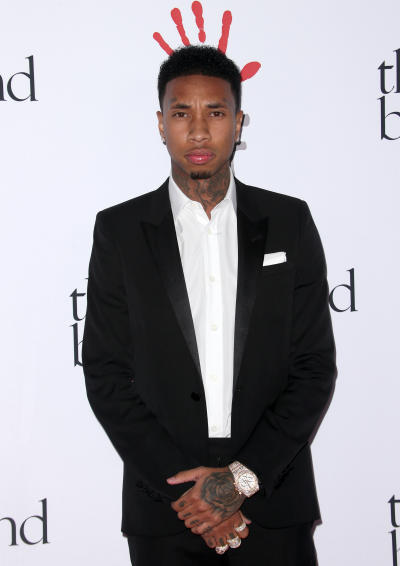 Tyga at the Diamond Ball