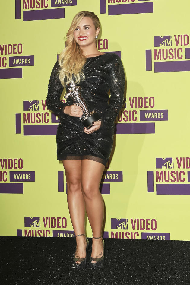 Demi Lovato at the VMAs