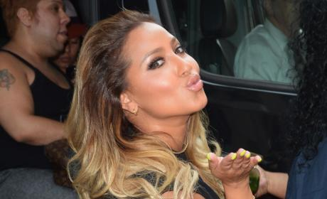 Adrienne Bailon in NYC