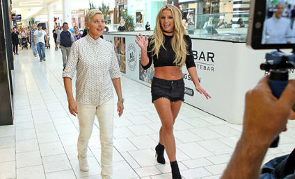 Britney and Ellen Wreak Hilarious Havoc in Shopping Mall