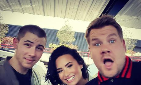 Demi Lovato and Nick Jonas: See Them on Carpool Karaoke!
