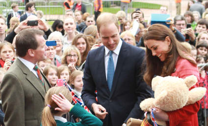 Kate Middleton and Prince William Tour Scotland, Leave Prince George at Home