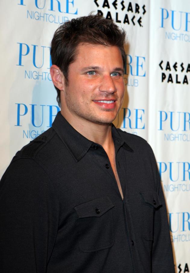 Nick Lachey Black Shirt