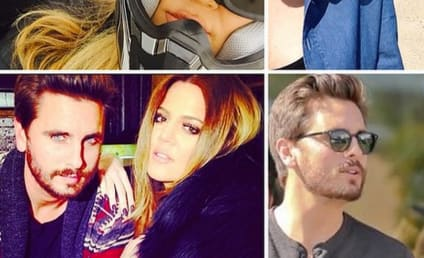 Kim Kardashian and Khloe Kardashian to Scott Disick: Happy Birthday!!!