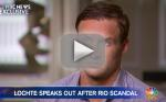 "Ryan Lochte Takes ""Full Responsibilty"" for ""Immature Behavior"""