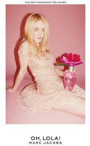 Dakota Fanning Perfume Ad