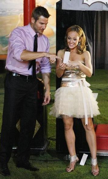 Brad Womack and Ashley Hebert