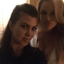 Kourtney and Khloe Instagram Pic