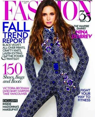 Nina Dobrev Fashion Cover