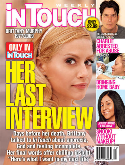 Brittany Murphy Cover