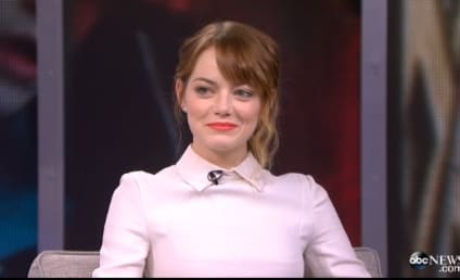 Emma Stone and Andrew Garfield: Lovefest on Good Morning America