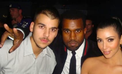 Kanye West: LIVID with Rob Kardashian Over Kim Kardashian-Gone Girl Comparison!