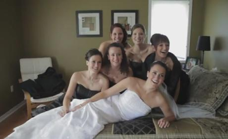 Bride Breaks Bed on Wedding Day