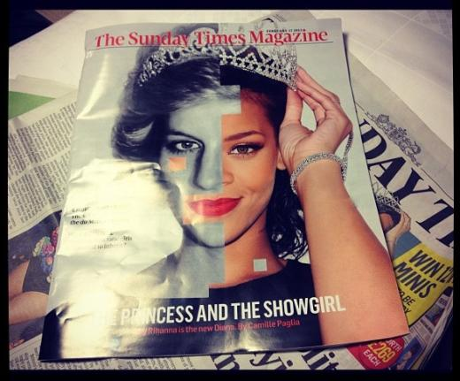 Rihanna, Princess Di Photo
