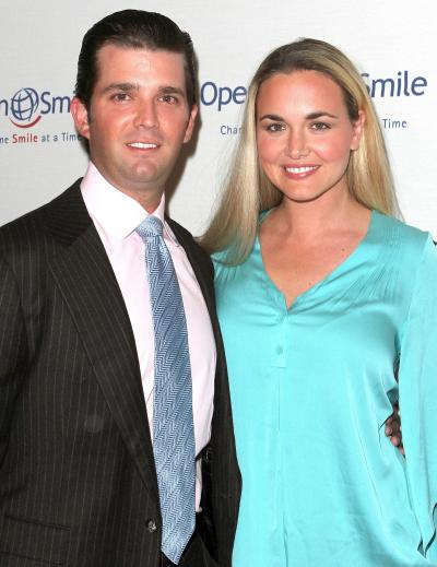 Donald Trump Jr., Wife