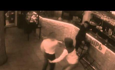 Waitress Clocks Customer Who Groped Her