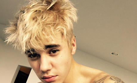What do you think of Justin Bieber as a blonde?