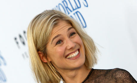 Rosamund Pike: Pregnant with Second Child!