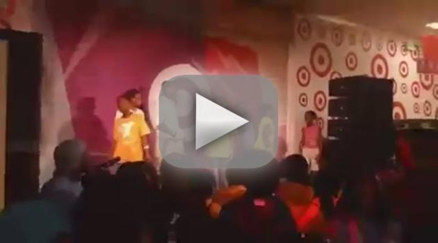 Beyonce Shocks Kids at Target