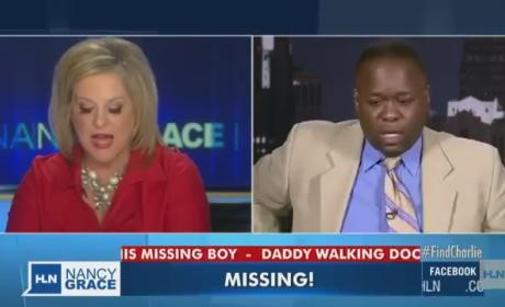 Charlie Bothuell Found After 11 Days; Missing Boy's Father Reacts in Stunned Silence on Nancy Grace