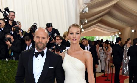 Jason Statham and Rosie Huntington-Whiteley: 2016 Costume Institute Gala