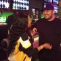 Blac Chyna and Rob Kardashian Laugh At Dave and Buster's